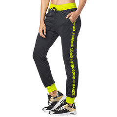 ZUMBA(ズンバ) Feel Good Dance Good Track Pants