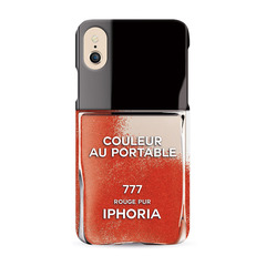 Nailpolish Vernis Rouge Red for iPhone X