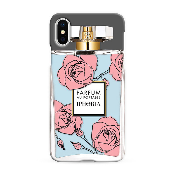 Parfume Rose Blue for iPhone X