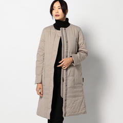No-Collar Long Coat