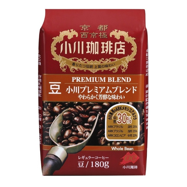 小川珈琲店 プレミアムブレンド豆 180g