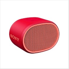 ■ SONY SRS-XB01RC Bluetoothスピーカー レッド