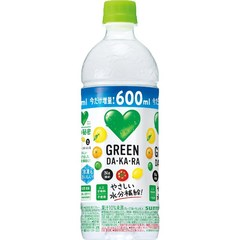 サントリー GREEN DAKARA 600ml