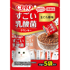 CIAO すごい乳酸菌ドライ まぐろ節味22g×5袋