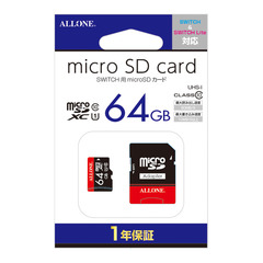 【Switch/Switch Lite共用】microSDカード64GB