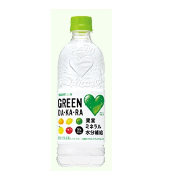 サントリー GREEN DAKARA 540ml