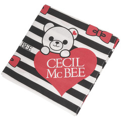CECIL McBEE 女児長方形ハンカチクロス