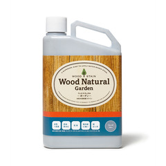 WOOD NATURAL-Garden- 0.7kg ウォルナット