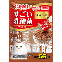 CIAO すごい乳酸菌ドライ チキン味22g×5袋