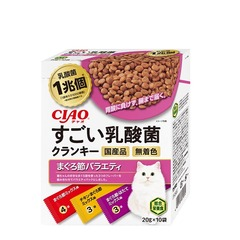 CIAOすごい乳酸菌クランキー まぐろ節バラエティ20g×10袋
