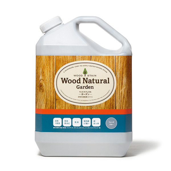 WOOD NATURAL-Garden- 3.5kg フレンチブルー