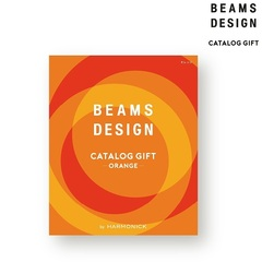 BEAMS DESIGN CATALOG GIFT オレンジ