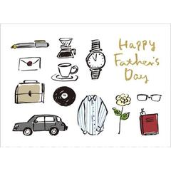 父の日カード Happy Father's Day