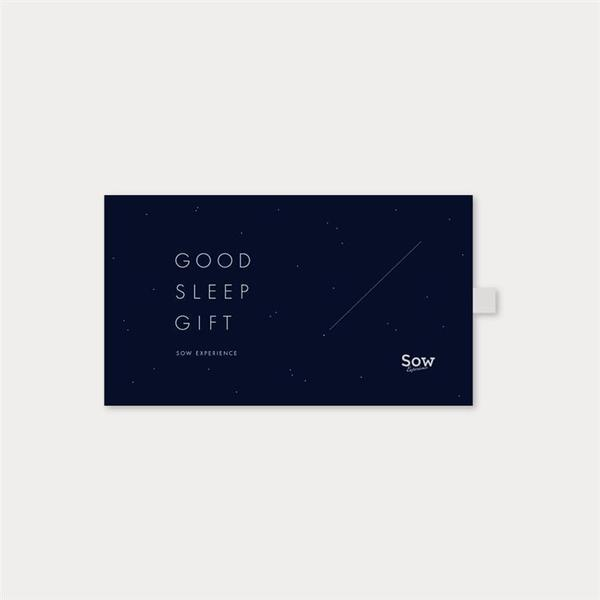 体験ギフト GOOD SLEEP GIFT
