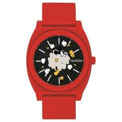 TIME TELLER P RED/BLACK/FIGHT CLOUD NA1193098-00 ユニセックス腕時計