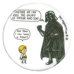 カンバッジ 叱る STAR WARS Jeffrey Brown