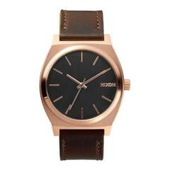 NIXON(ニクソン) TIME TELLER LEATHER A0452001 ユニセックス腕時計