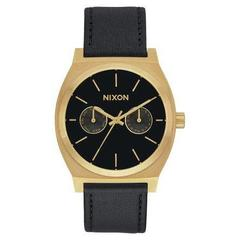 NIXON(ニクソン) TIME TELLER DELUXE LEATHER A9271624 ユニセックス腕時計
