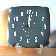 STANDARD CLOCK PRODUCT Lubbock Wall Clock グレイ