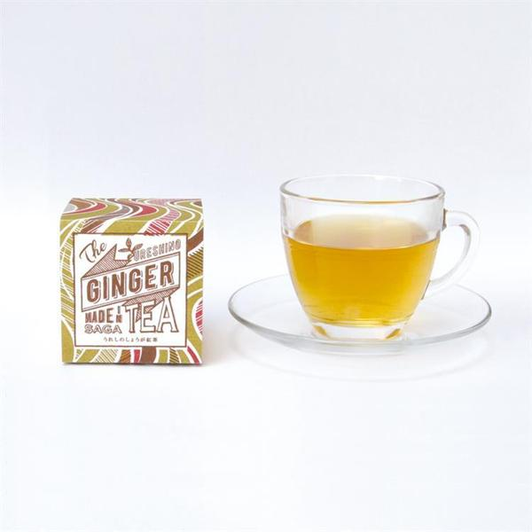 URESHINO GINGER TEA