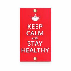 マスクケース KEEP CALM Stay Healthy